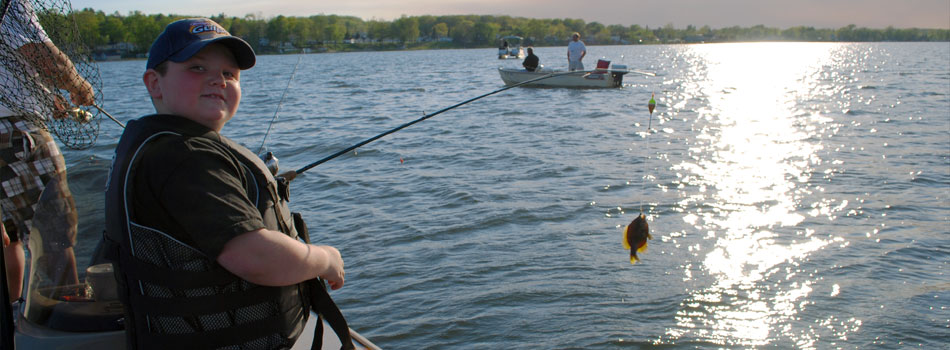 Fishing on Houghton Lake