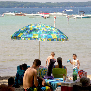 Houghton Lake Beaches