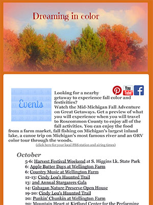 Newsletter Oct 2012