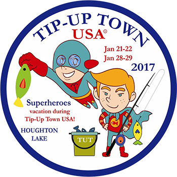 Tip-Up Town USA 2017 Badge