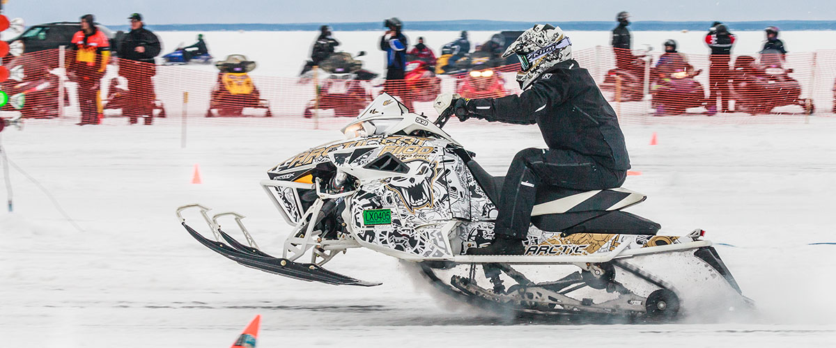 TUT Snowmobile Race