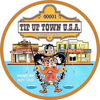 Tip-Up Town USA 2018 Badge
